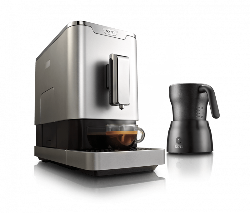 Coffee Machine, Bean To Cup Coffee Machine, Espresso Machine, Scott Slimissimo Coffee Machine